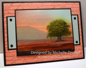 At Peace -Stampin' Up! Card created by Michelle Zindorf