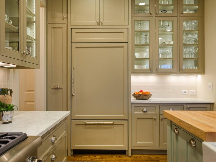 1000 ideas about glass front refrigerator on pinterest for Bella cucina kitchen cabinets