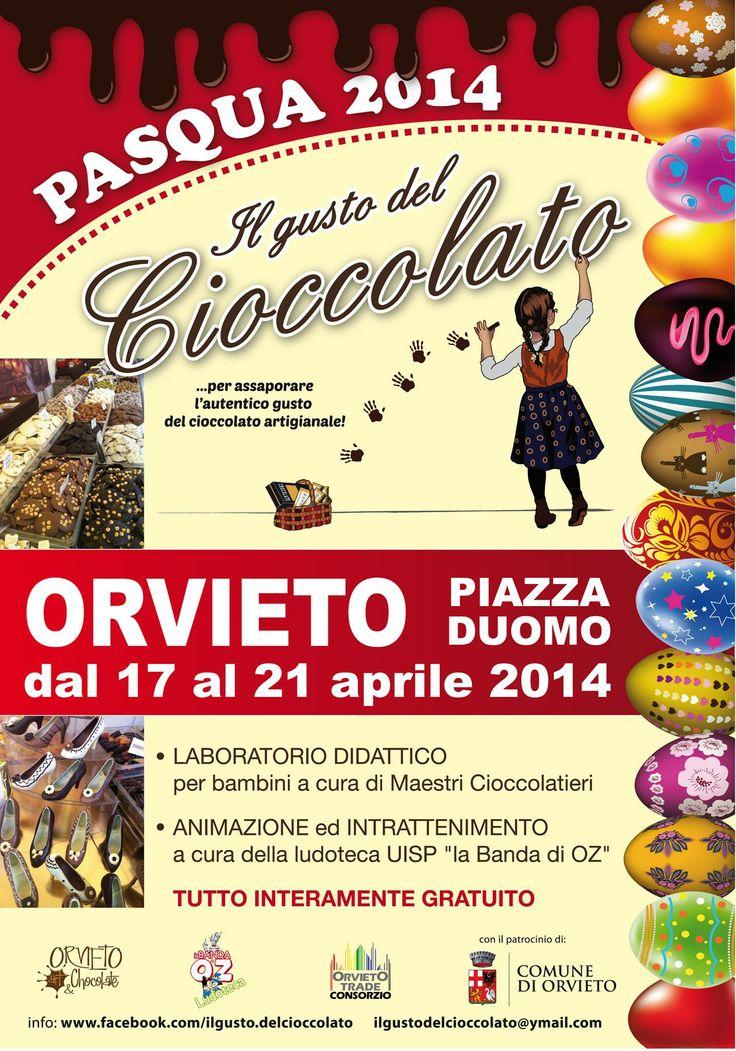 Il Gusto del Cioccolato, Orvieto Piazza Duomo 17-21 aprile 2014