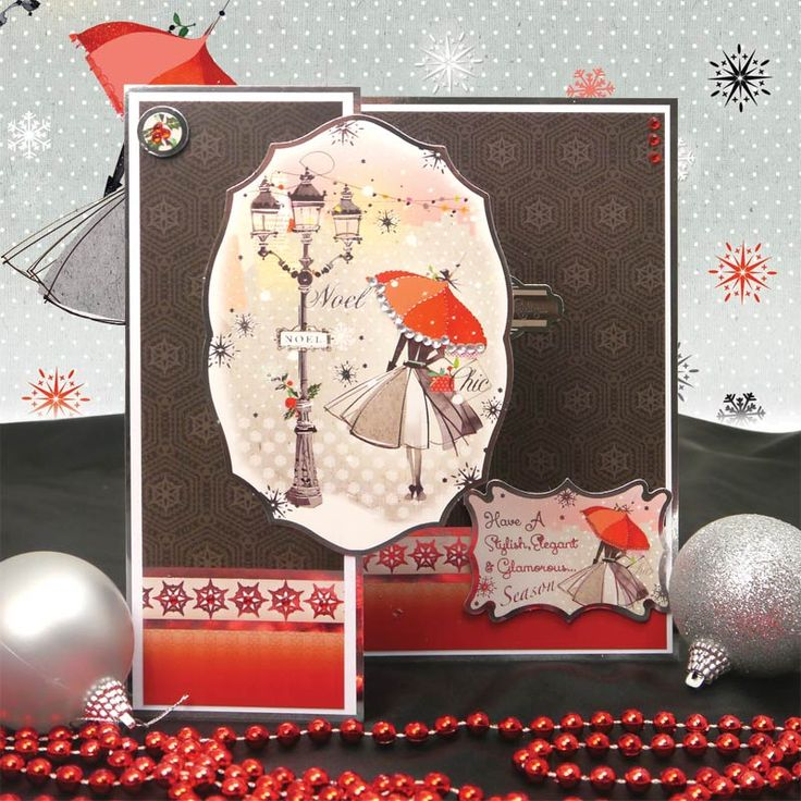 Festive Finesse Individual Topper Set | Hunkydory Crafts