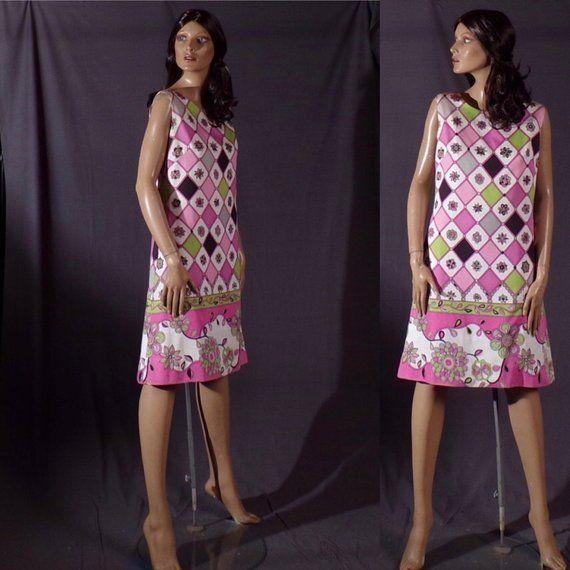 Vintage 1960s Dress Shift