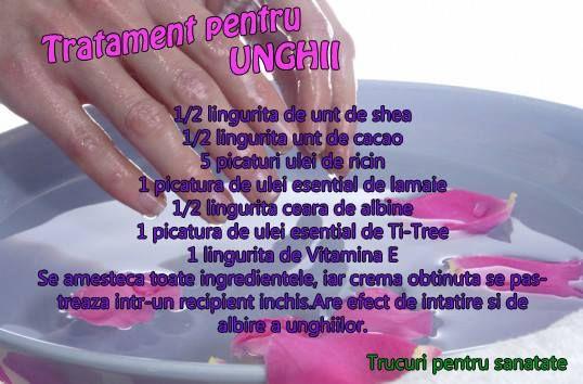 Tratament pentru unghii  Nail Treatment