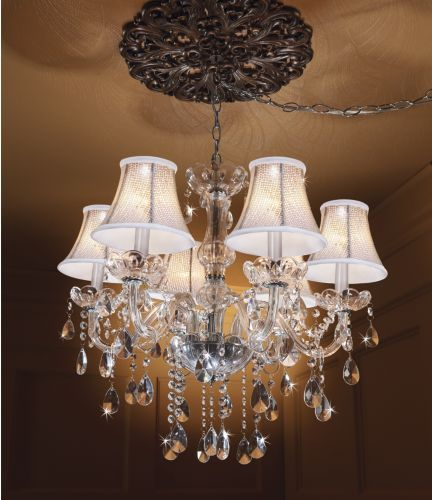 Sparkly chandelier from midnight velvet add sparkling dimension to your lighting with this exquisite
