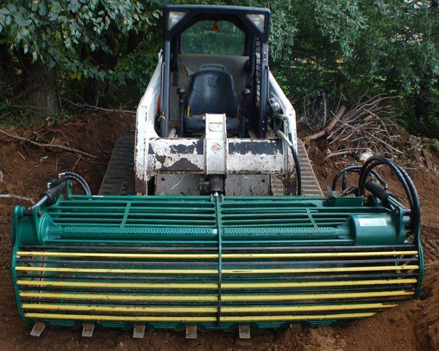 top soil screener attachment