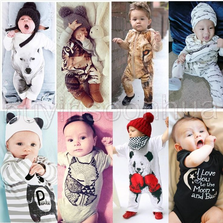 Newborn Kids Baby Boys Girls Infant Romper Jumpsuit Bodysuit Clothes Outfit Sets #Unbranded #DressyEverydayHoliday
