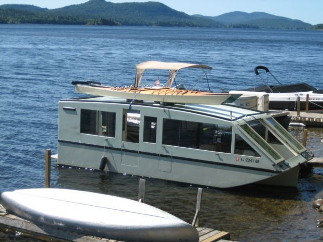 The Water Van A Phil Bolger Design For Sale In Flanders New Jersey United States Shanty Boat Boat House Boat