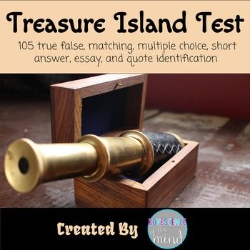 best literature images literature lesson treasure island test key
