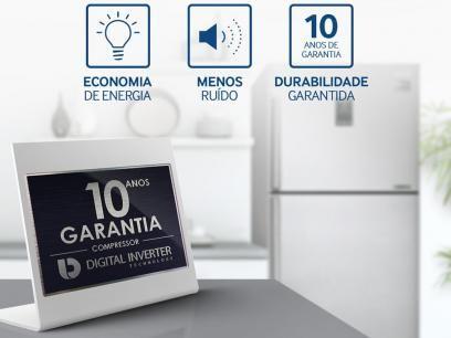 Geladeira/Refrigerador Samsung Frost Free Inox - Duplex 385L Twin Cooling Plus RT5000K com as melhores condições você encontra no Magazine Rgenestore. Confira!