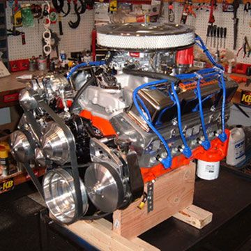 C Ab F D F F Cf F on Chevy 383 Fuel Injected Crate Engine