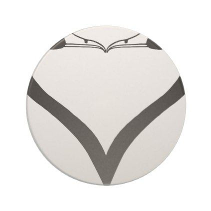 Swan Heart Sandstone Coaster - diy cyo customize create your own #personalize