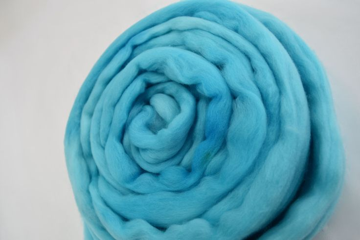 18.5 micron Merino Wool roving Australian merino wool top Nuno felting wool spinning fibre needle felting weaving carding 100g Opal 11761 by feltfibrecraft on Etsy