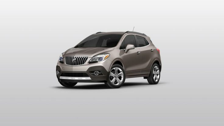2014 buick encore leather 1sd package  cocoa silver metallic, saddle w/ leather interior  $34635