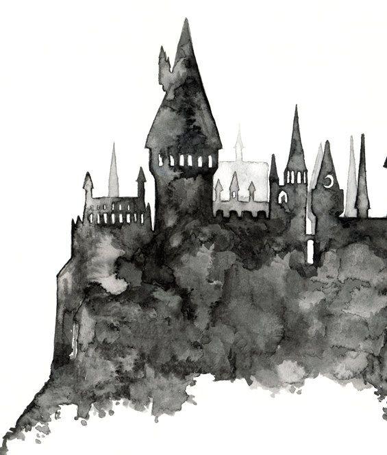 Wizard School Painting...