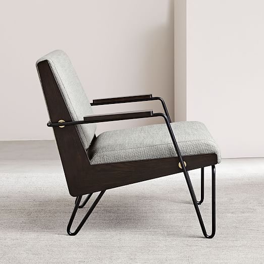 Vela Show Wood Chair West Elm Wood Chair Furniture Blue