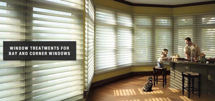 Best 25+ Corner window treatments ideas on Pinterest ...