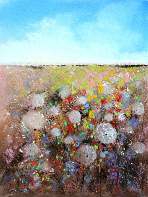 Carol Engles Art: Dandelion Field