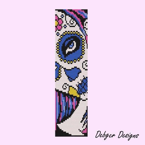Bead Pattern Loom(Bracelet Cuff)-Calavere 2