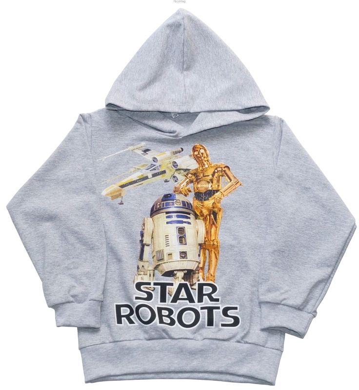 BLUZA STAR ROBOTS S