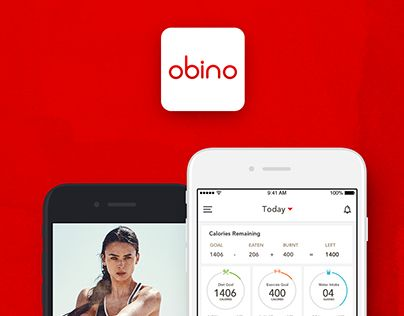 """Check out new work on my @Behance portfolio: """"Obino Health & Weight Loss Coach App"""" http://be.net/gallery/54913517/Obino-Health-Weight-Loss-Coach-App"""