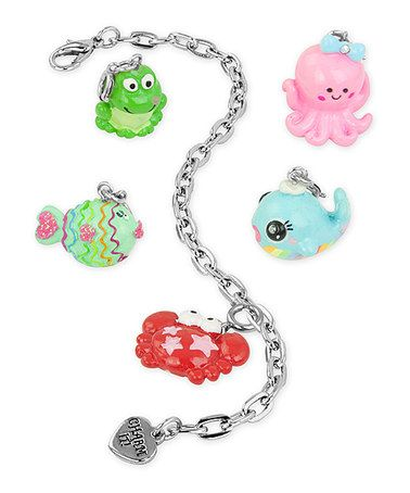 Another great find on #zulily! Under the Sea Charm Bracelet Set by CHARM IT! #zulilyfinds