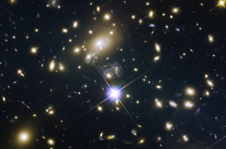 A century after Albert Einstein proposed that gravity could bend light, astronomers now rely on galaxies or even clusters of galaxies to magnify distant stars.