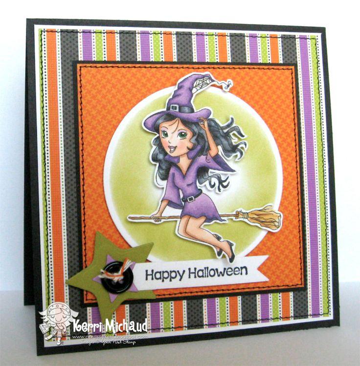 Happy Halloween Diva Samantha : Your Next Stamp