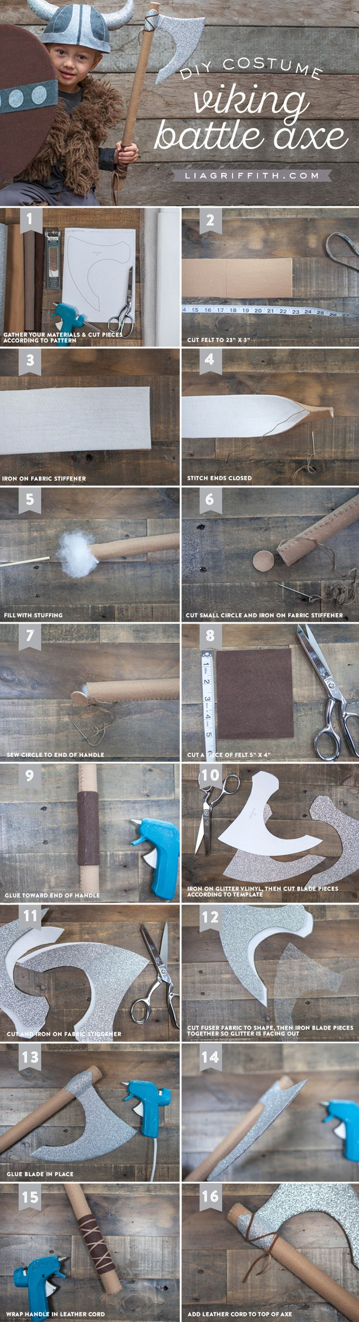 Accessories for DIY Kid�s Viking Costume