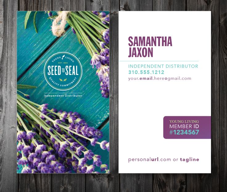 Young Living Business Card Template: 18 Best \\ Young Living Business Cards + Tools \\ Images
