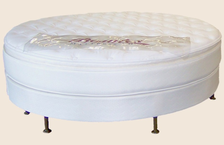 Round Mattresses manufactured by Bowles Mattress Company in Jeffersonville, Indiana