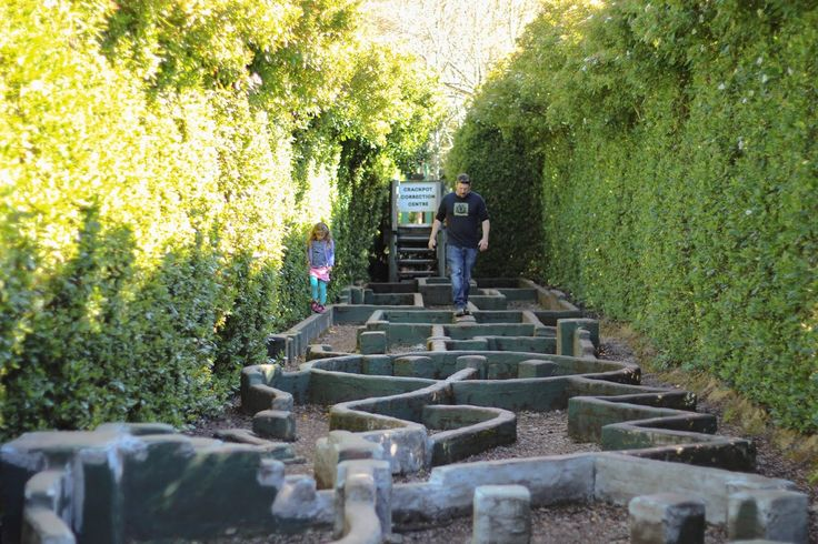 Explore Tasmazia and the Village of Lower Crackpot.- one of the world's largest maze complexes with eight mazes, lavender and honey farms. Located near the rural town of Sheffield, only 30 minutes from Devonport. #maze #tasmania #sheffield #discovertasmania Image Credit: @rockmyroll