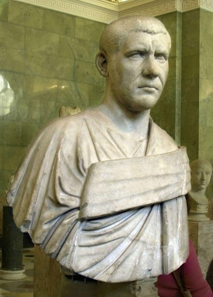 Bust of emperor Philippus Arabus - Hermitage Museum - Римский скульптурный портрет — Википедия