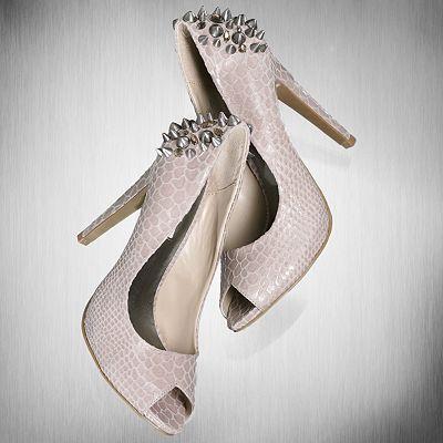 Simply Vera Vera Wang Peep-Toe High Heels, Kohls...luv! - 48 Best High Heel Addiction!!!! Images On Pinterest