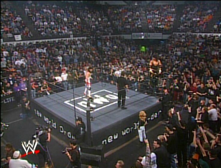 nWo Wrestling Ring From The Souled Out PPV