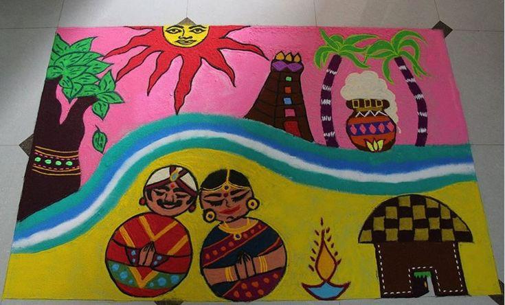 25 Pongal Kolam Designs You Won't Like to Miss