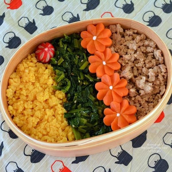 Chicken Soboro #bento そぼろ弁当