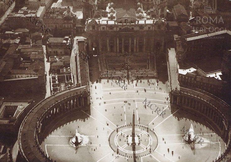 Piazza San Pietro 1918