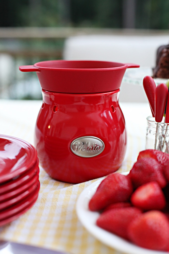 ♥ JUST ADD #VELATA #CHOCOLATE! #fondue ♥