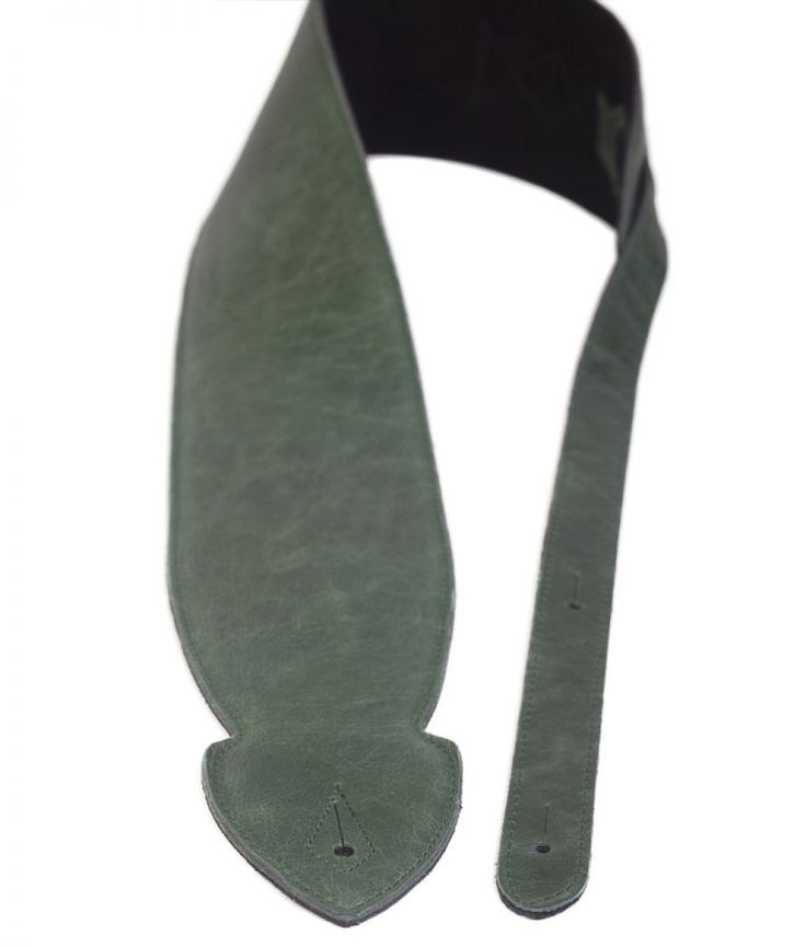 the 4 softy green leather guitar strap going green for st patricks day leather guitar. Black Bedroom Furniture Sets. Home Design Ideas