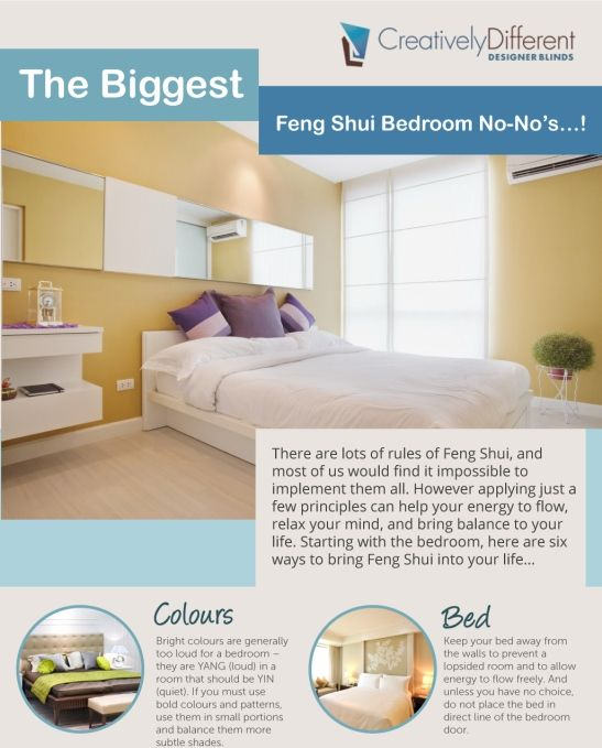 Feng Shui Master Bedroom Ideas: 30 Best Images About Home Infographics On Pinterest