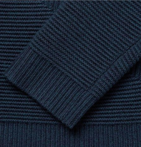 Alexander Wang Ottoman Ribbed Merino Wool Sweater