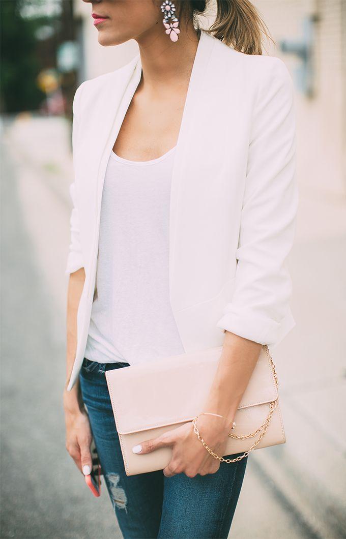 Fashion Inspiration | White Blazer