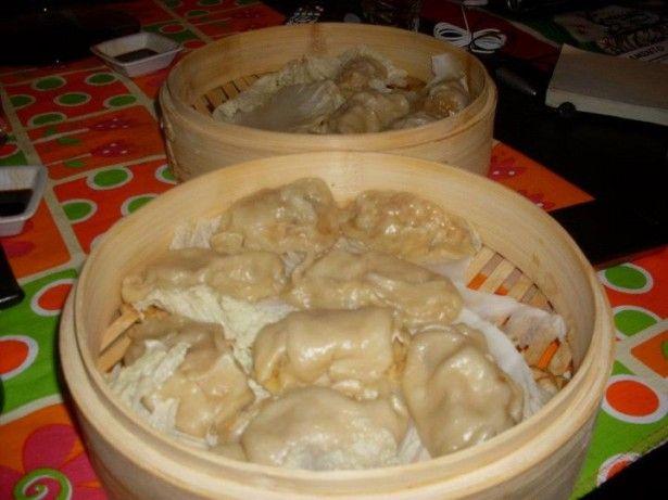 Jiaozi ravioli cinesi di carne e gamberi al vapore - Uattà!