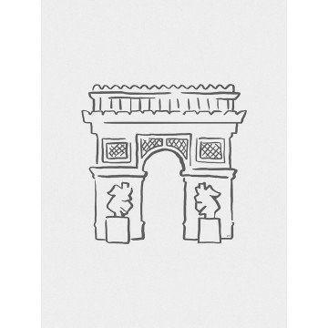 Arco do Triunfo Minimalista