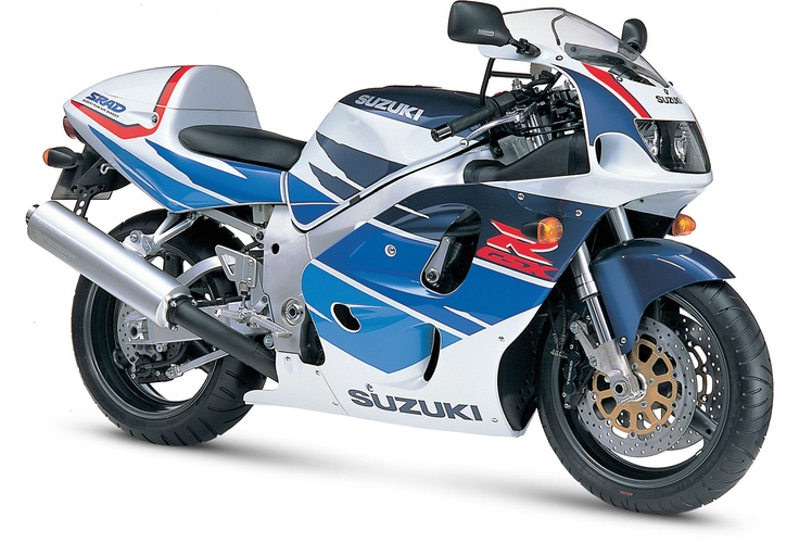 GSXR 750 1996 SRAD (suzuki ram air direct)    90's sports bikes are sweeeet