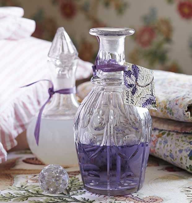 Follow this simple Sarah Moore guide to learn how to make scented linen water. More simple craft projects at countryliving.co.uk
