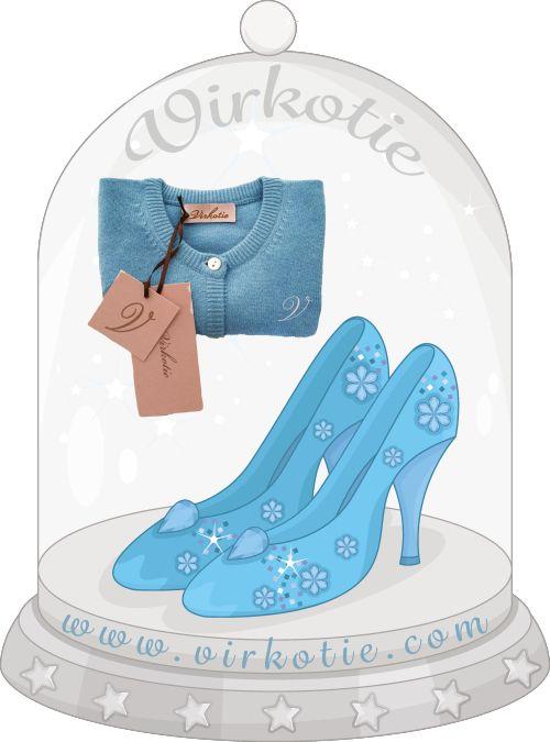 VirkotieCINDERELLA Glass Slippers @virkotie www.virkotie.com