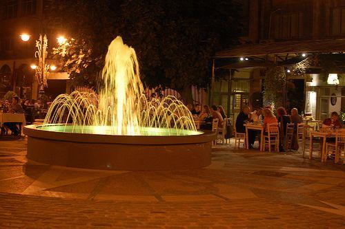 Thessaloniki | Plaza fountain, Thessaloniki, Greece | Natalie | Flickr