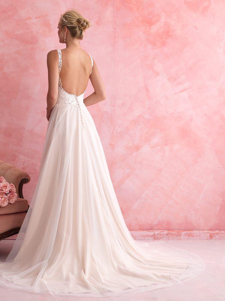 Allure Romance - 2802 - Available Spring 2014, Sample Size 14, Ivory over Gold. Bridal Boutique, 2207 North Belt Hwy, Suite F, Saint Joseph, Missouri, 64506, 816-233-69456