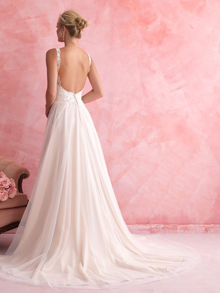 Allure Romance - 2802 - Available Spring 2014, Sample Size 14, Ivory over Gold. Bridal Boutique, 2207 North Belt Hwy, Suite F, Saint Joseph, Missouri, 64506, 816-233-69456