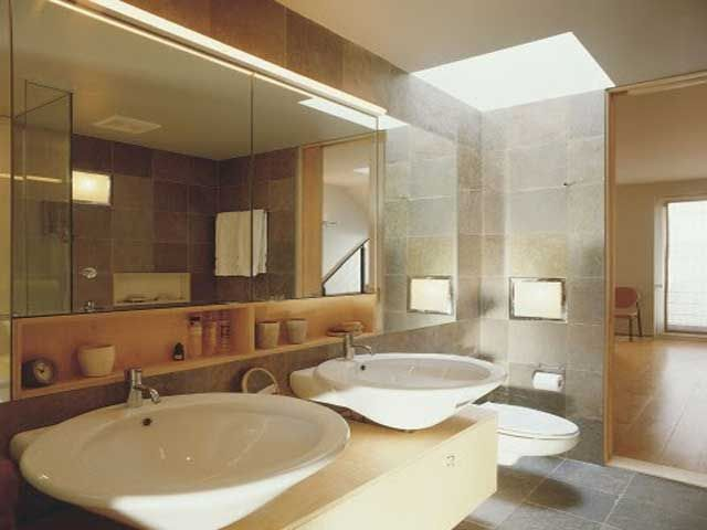 latest bathroom designs for small spaces